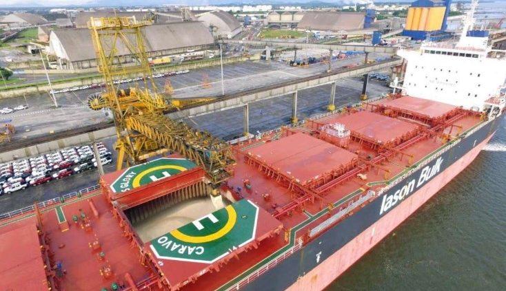 Pasa bate recorde de carregamento de açúcar em um único navio em Paranaguá